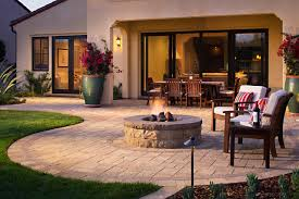 Paver Patio and Fire Pit Tulsa Ok