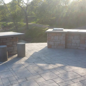 Outdoor Kitchen, Grand Lake