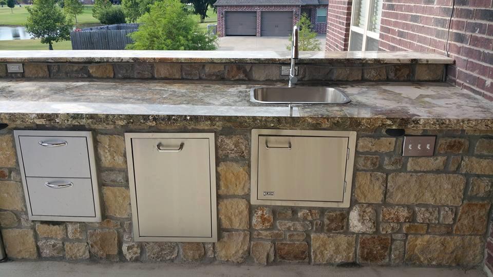 Outdoor kitchens tulsa outdoor kitchen design ideas for for Kitchen ideas tulsa