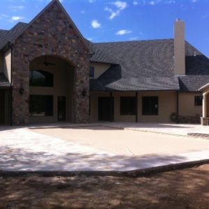 Stone & Paver Patio