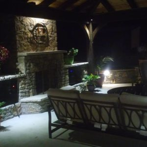 Outdoor Tulsa Fireplace