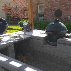 Outdoor Kitchen & Pergola in Tulsa Okahoma