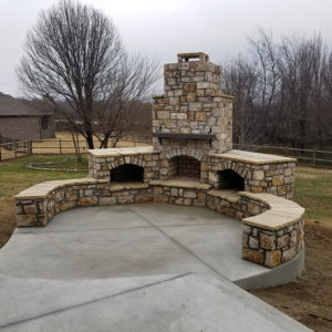Broken Arrow Outdoor Fireplaces