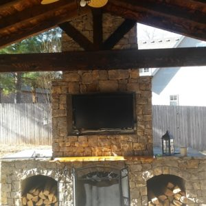 Outdoor Fireplace Builder Tulsa