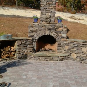 Outdoor Fireplace Tulsa OK