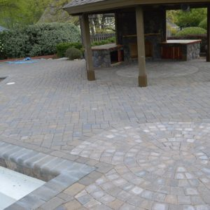 Paver Patio Pool Deck in Tulsa OK
