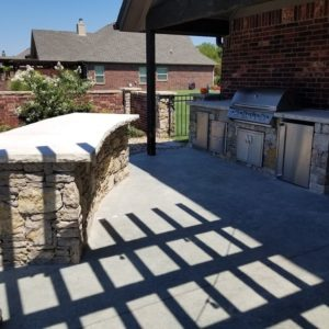 Tulsa OK Outdoor Kitchen