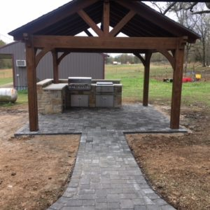 Outdoor Kitchen and Pavilion Builders