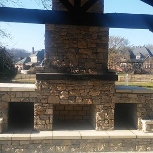 Outdoor Stone & Fireplace Construction Tulsa