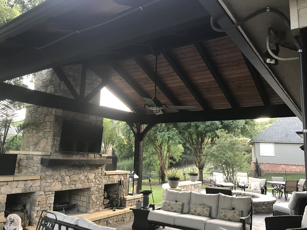 Everything Outdoors Outdoor Living Areas landscaping ... on Outdoor Living Company id=96105