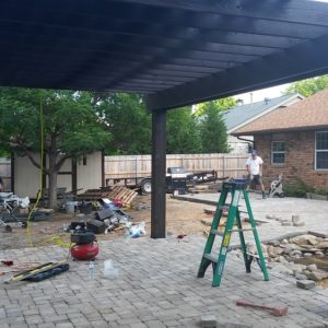 Paver Patios and Pergola Installation Tulsa