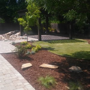 Water Feature Patio Pergola Contractor Tulsa