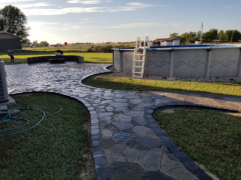 Paver Patio Installation Tulsa Oklahoma & Everything Outdoors Stone u0026 Paver Patios