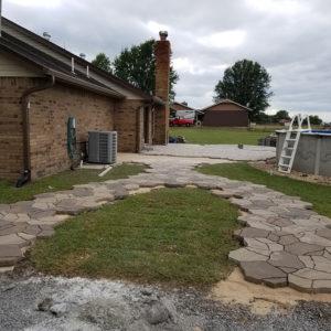 Paver Walkway Installer Tulsa