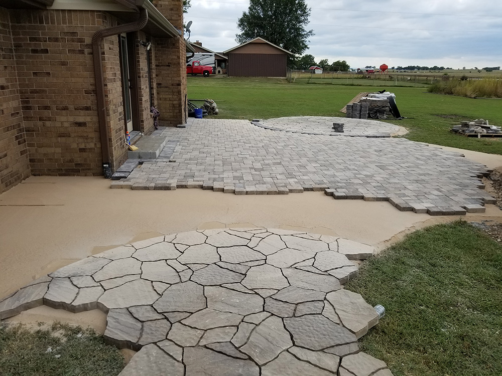 Everything Outdoors Work In Progress Landscaping Company