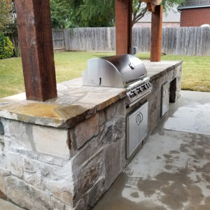Outdoor Kitchen Builder Tulsa / Broken-Arrow