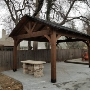 Outdoor Pavilion and bar Broken Arrow Oklahoma