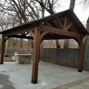 Patio and Pavilion Installation Tulsa