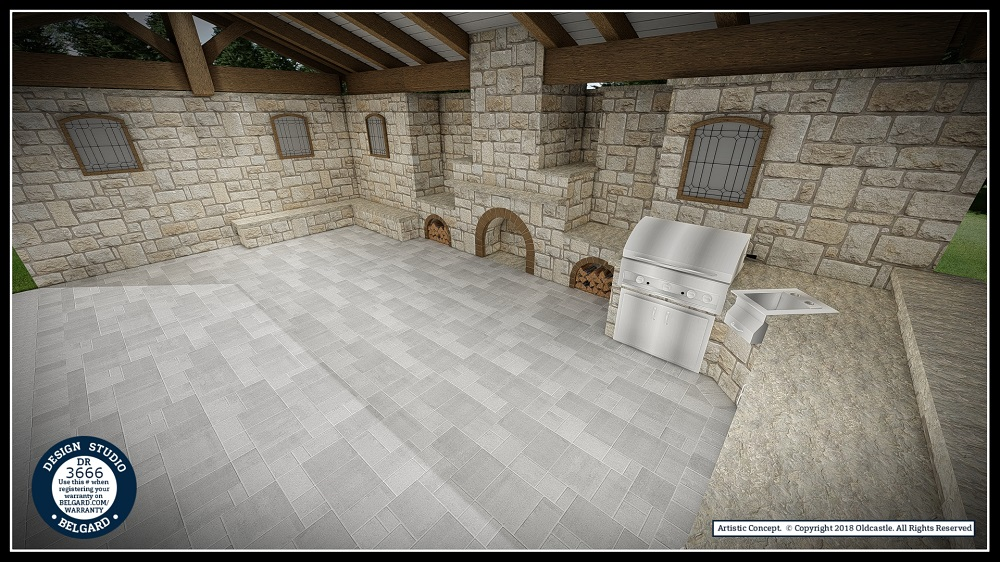 Outdoor Kitchen Installation Belgard Tulsa