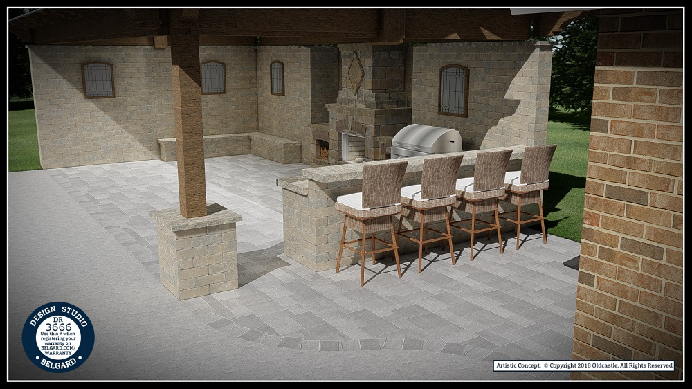 Outdoor living Belgard Tulsa OK