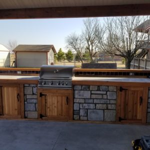 Outdoor Kitchen Contractors Broken Arrow OK