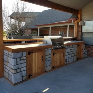 Outdoor Kitchen Installers Broken Arrow OK