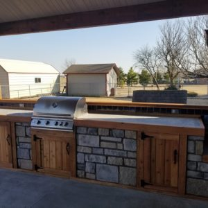 Broken Arrow Outdoor Kitchen Installation