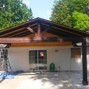 Outdoor Cedar Pavilion Contractor Tulsa OK