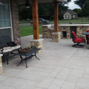 Outdoor Kitchen and Stamped Concrete Contractors in Tulsa Oklahoma 1