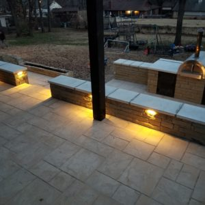 Patio Contractors and Sitting Walls Jenks OK
