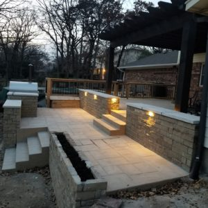 Stamped and Stained Concrete Patios Broken Arrow OK