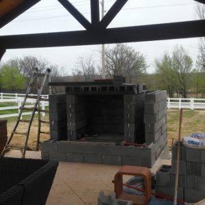 Fireplaces and Fire Pit Construction in Tulsa OK