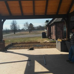 Outdoor Covered Porch Tulsa OK