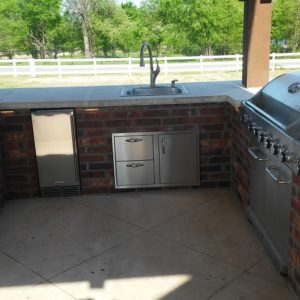 Outdoor Kitchens Broken Arrow and Owasso OK