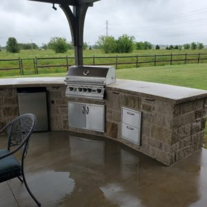 Outdoor Kitchen Installation Collinsville OK