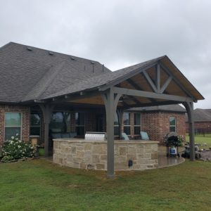 Patio and Outdoor Living area installer Collinsville OK