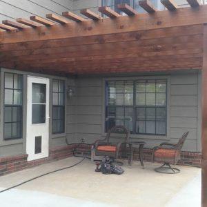 Cedar Pergola Contractor Tulsa OK