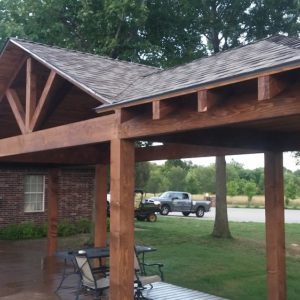 Pavilions and Covered Porches in Tulsa OK