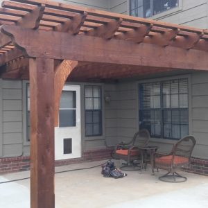 Pergola Installation Broken Arrow