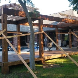 Pergola and Pavilion Contractor Broken Arrow