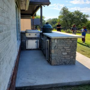 Outdoor Kitchen Installation Owasso OK
