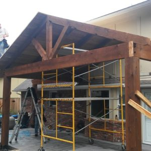 Attached Pergolas and Pavilions Tulsa OK