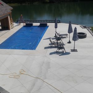 Concrete around Pool in Sand-Springs OK