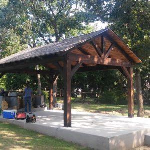 Outdoor Pavilions Tulsa OK
