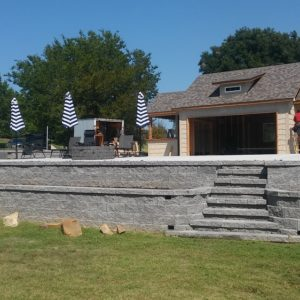 Retaining Wall Builder Tulsa OK