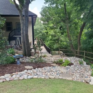 Dry Creek Bed Installers Tulsa OK