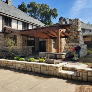 Outdoor Fireplace and Kitchens Tulsa OK