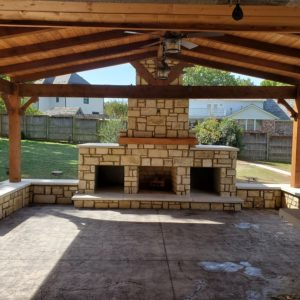 Patio Covers and Fireplace Installation Tulsa OK