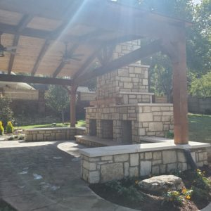Tulsa Cedar Pavilions and Pergola Builders