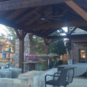Outdoor Fireplace Builders Tulsa Oklahoma